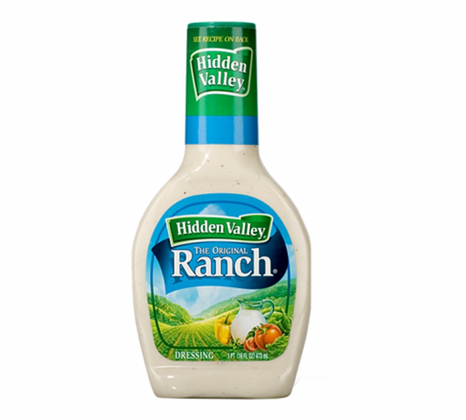 Hidden Valley Ranch Dressing 16 Oz Free PNG Images & Clipart.