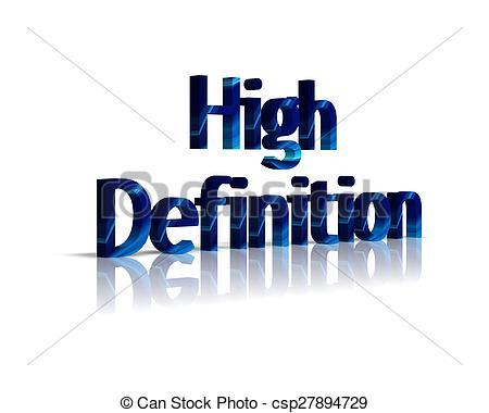 High Definition Clipart.