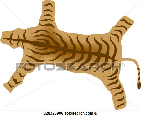 Animal hide clipart.