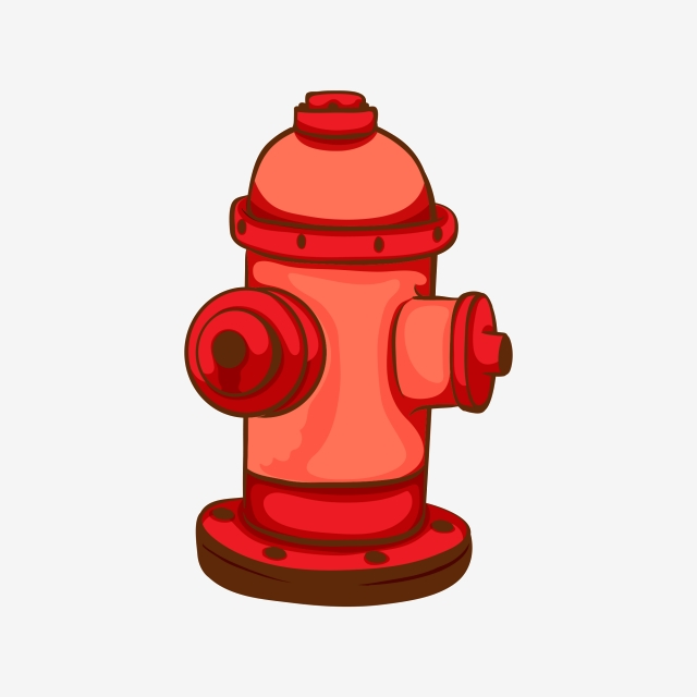 Material De Vector De Hidrante Descarga De Plantilla De Hidrante.