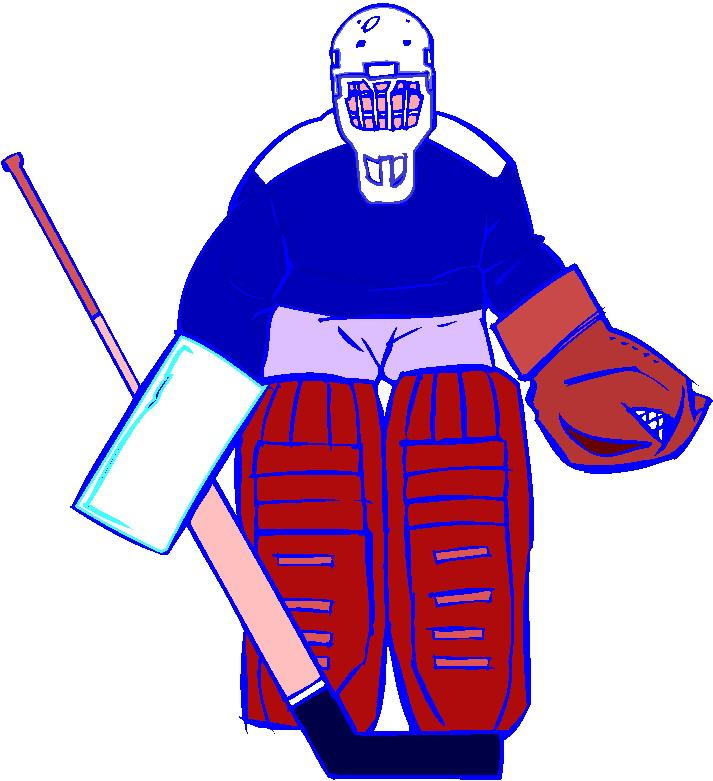 Hockey sobre hielo Clip Art.