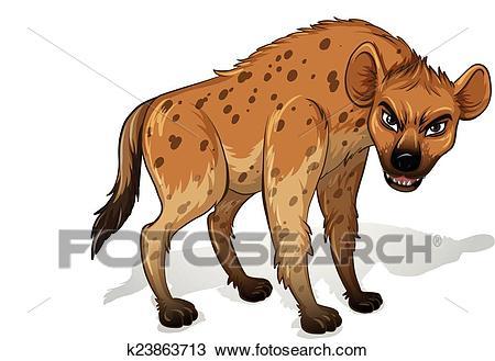 Hyena Clipart.