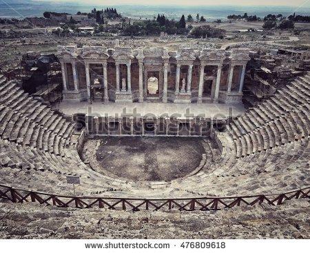 Hierapolis Stock Photos, Royalty.