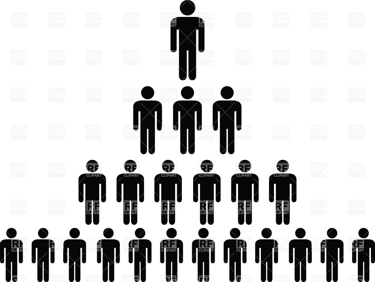 Hierarchy clipart.