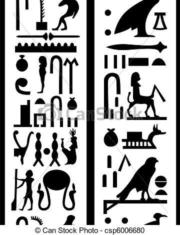 Hieroglyphs Vector Clipart EPS Images. 863 Hieroglyphs clip art.