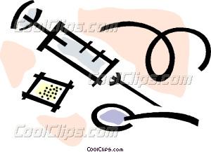 heroin Vector Clip art.