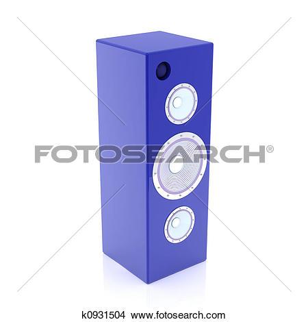 Drawings of HiFi Speaker k0931504.