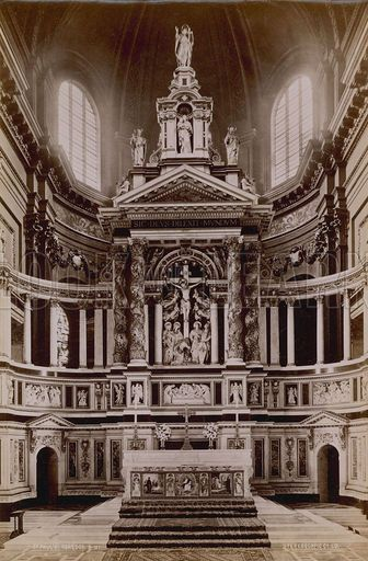 Bodley & Garner, Reredos and high altar for St Paul's Cathedral.