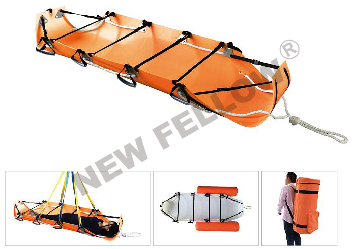 Rollable Rescue Stretcher.