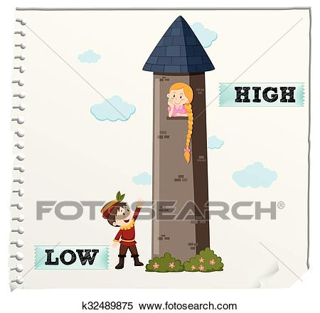 High and low clipart 9 » Clipart Station.