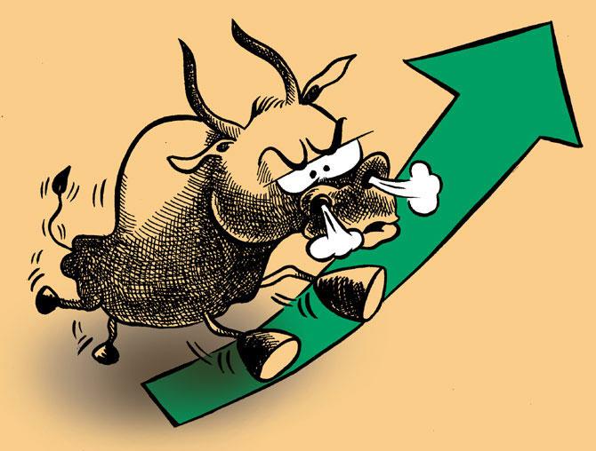 Sensex soars 241 pts to hit 2.