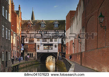 Stock Photo of The High Bridge, built in 1160, the Glory Hole.