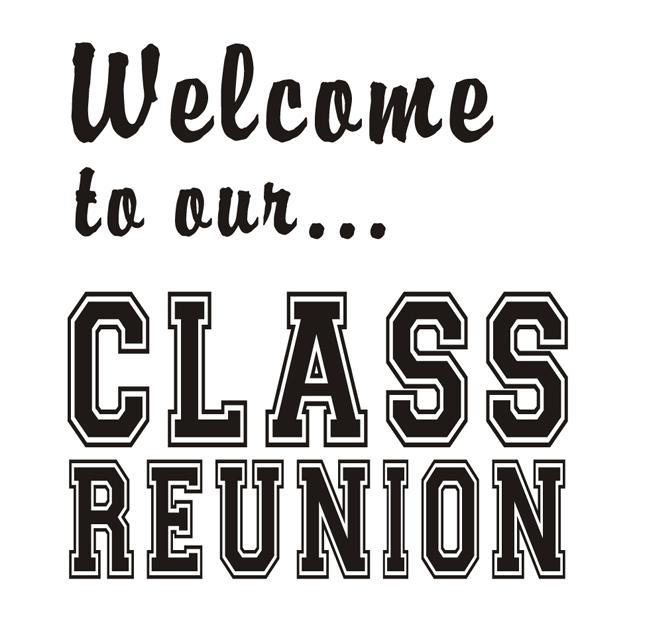 High School Class Reunion Clip Art.