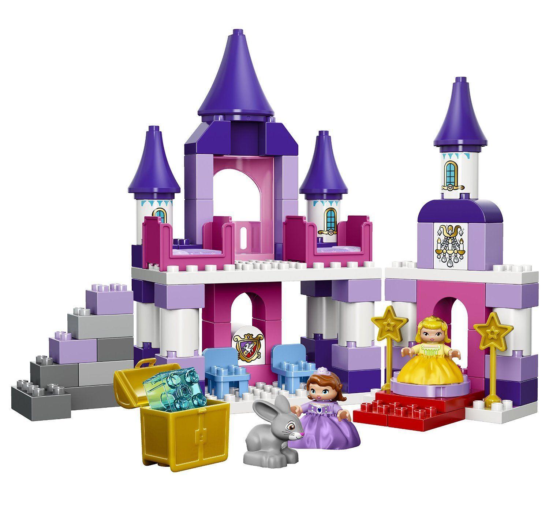 Sofia the First Royal LEGO CASTLE SET, 12 Inch High Castle LEGO.