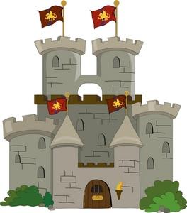 Castle clip art free.