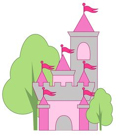 Castle Clip Art Images.
