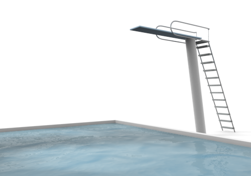 Clipart diving board.