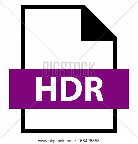 Use it in all your designs. Filename extension icon HDR High.