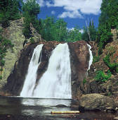 Stock Image of High Falls On Baptism River k10823345.