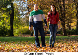 Stock Photographs of Young Couple Enjoying High Falls At The.