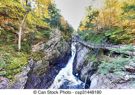 Pictures of High Falls Gorge.