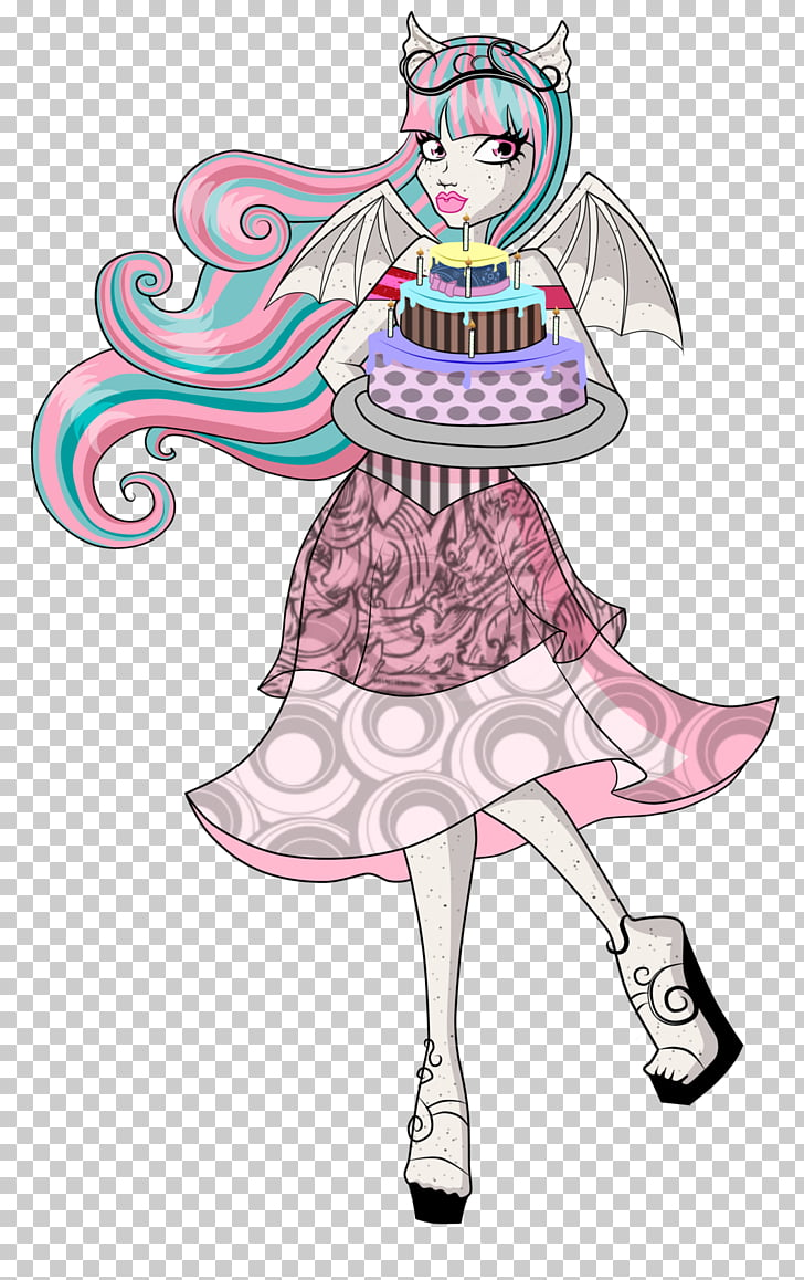 Monster High Visual arts, high fashion PNG clipart.
