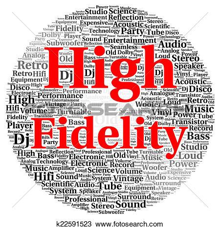 Stock Photo of High fidelity word cloud shape k22591523.