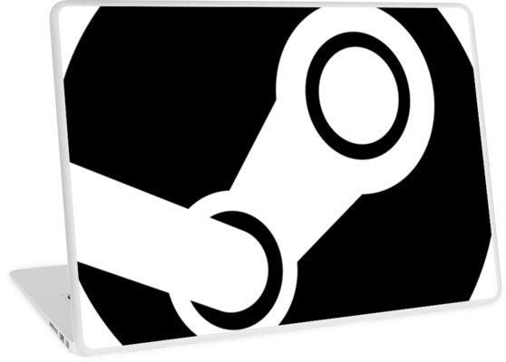 Modern Steam Logo.