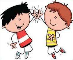 Free High Five Clipart.
