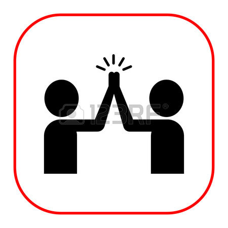 1,083 High Five Stock Vector Illustration And Royalty Free High.