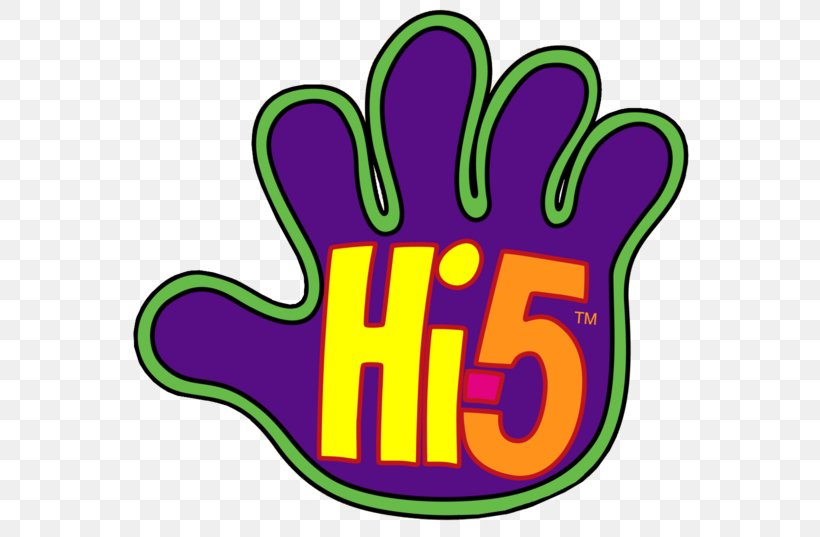 High Five Logo Television Show Clip Art, PNG, 600x537px.