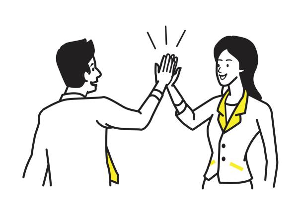 High fives clipart » Clipart Station.
