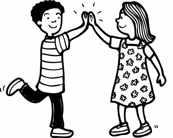 High fives clipart 7 » Clipart Station.