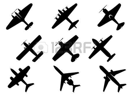 35,436 Aircraft Silhouette Stock Illustrations, Cliparts And.