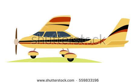 Aeroplane Stock Images, Royalty.