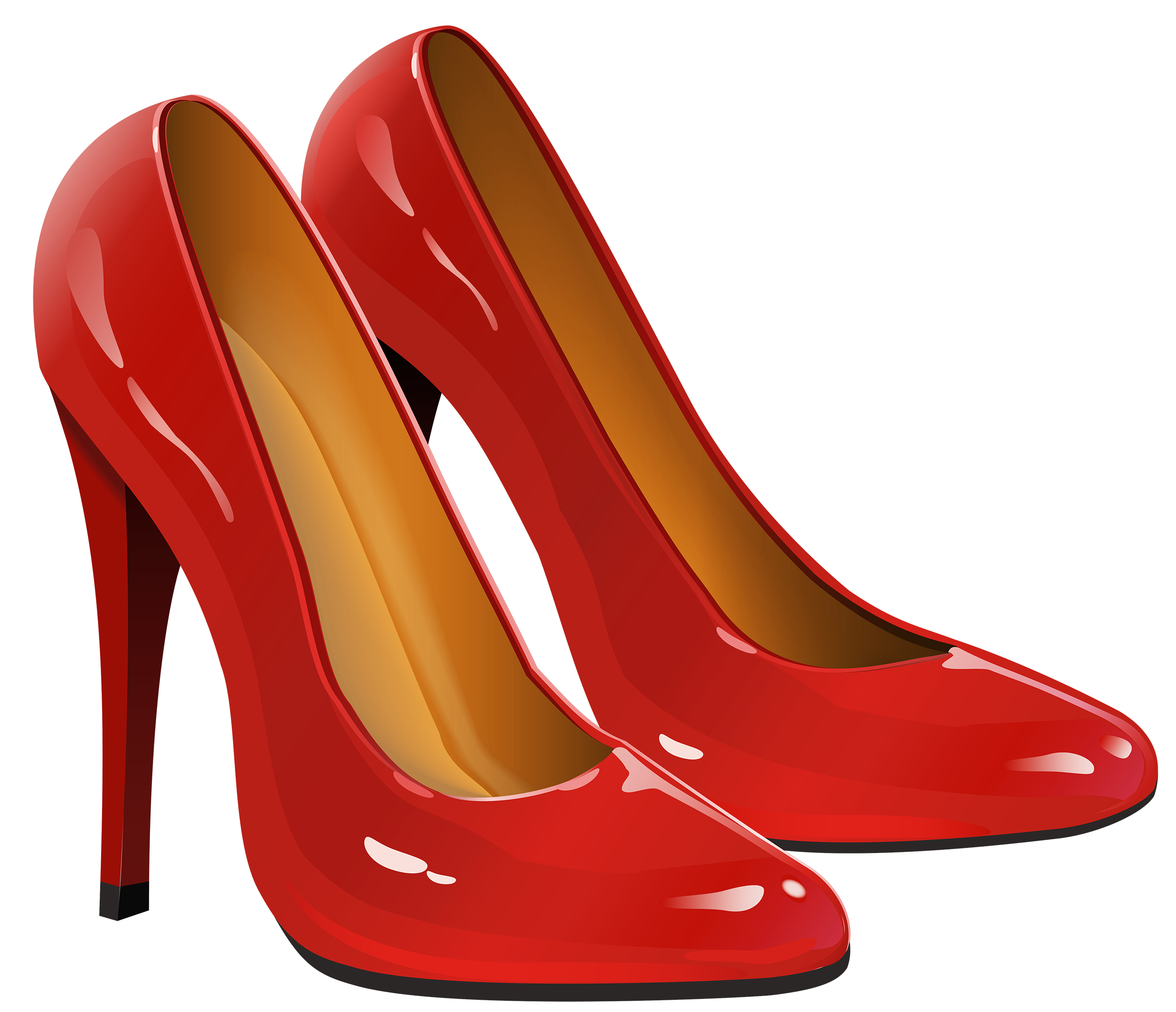 Red Heels PNG Clipart.
