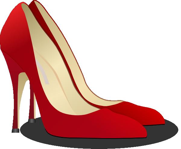 Stiletto Heels Front Clipart.