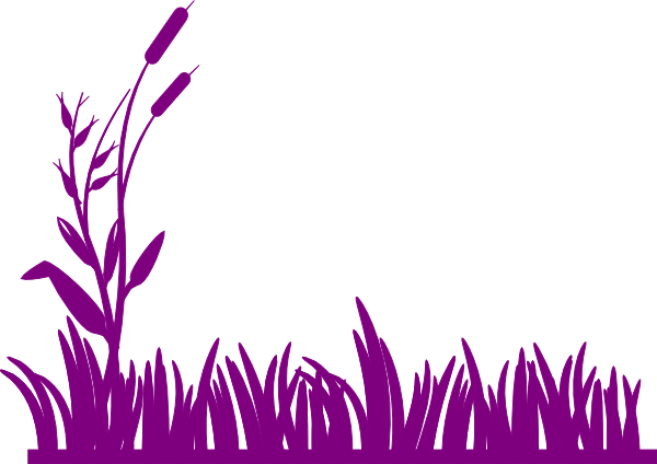 Purple Grass Clip Art at Clker.com.
