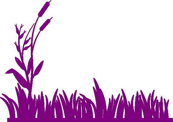 Purple Grass Clip Art at Clker.com.