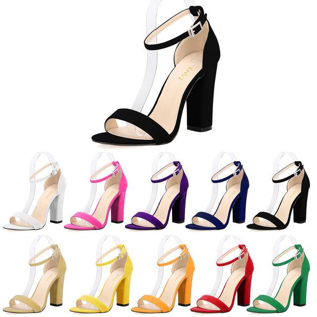 Aliexpress.com : Buy LOSLANDIFEN Newest Women Open Toe Sexy Ankle.