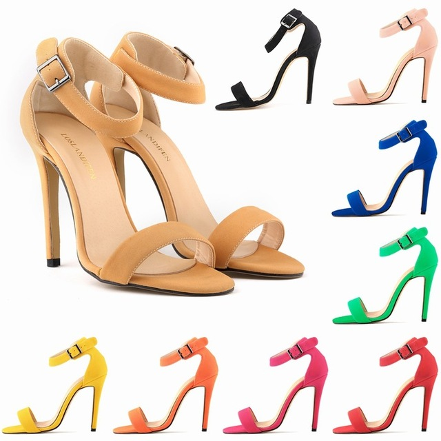 Loslandifen 2015 New Arrival Summer Patent Leather Open Toe Women.