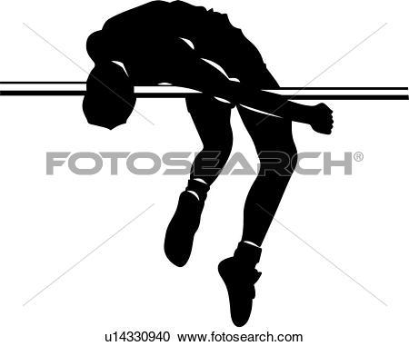 High jump Clip Art Royalty Free. 3,762 high jump clipart vector.