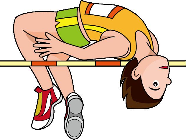High Jump Bar Clipart.