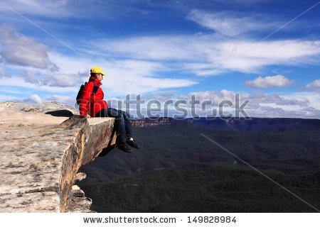 Mountain Ledge Stock Photos, Royalty.