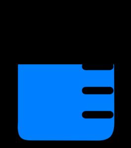 Beaker High Level Of Solution Clip Art at Clker.com.
