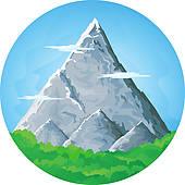 Mountain Ridge Clip Art.
