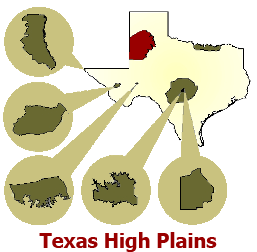 Winegrowing Regions of Texas.