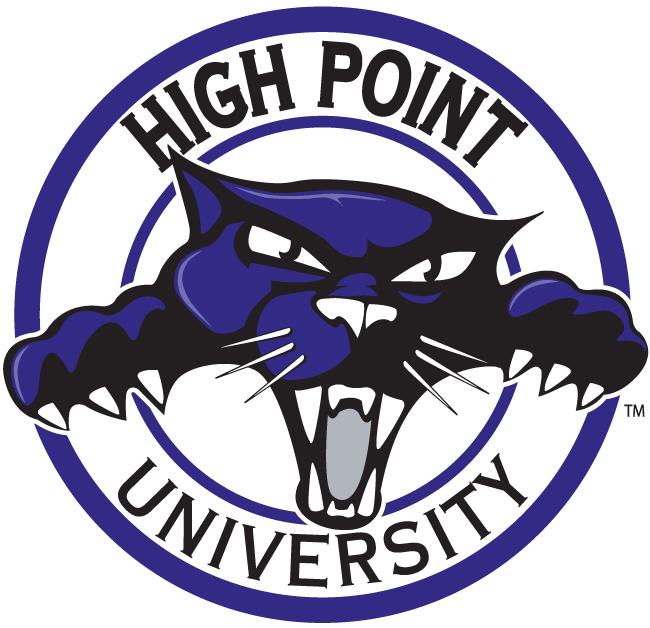 High Point Panthers Alternate Logo.