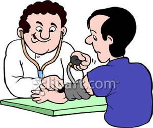 Control High Blood Pressure Clip Art.