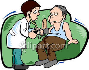 Signs of High Blood Pressure Clip Art.